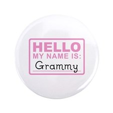 "Grammy Nametag - 3.5"" Button"