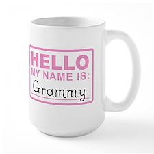 Grammy Nametag - Mug
