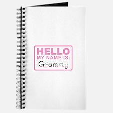 Grammy Nametag - Journal