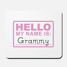 Grammy Nametag - Mousepad