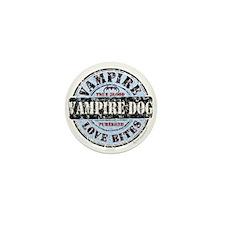 Purebred Vampire Dog Mini Button