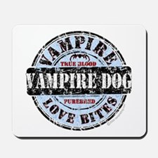 Purebred Vampire Dog Mousepad