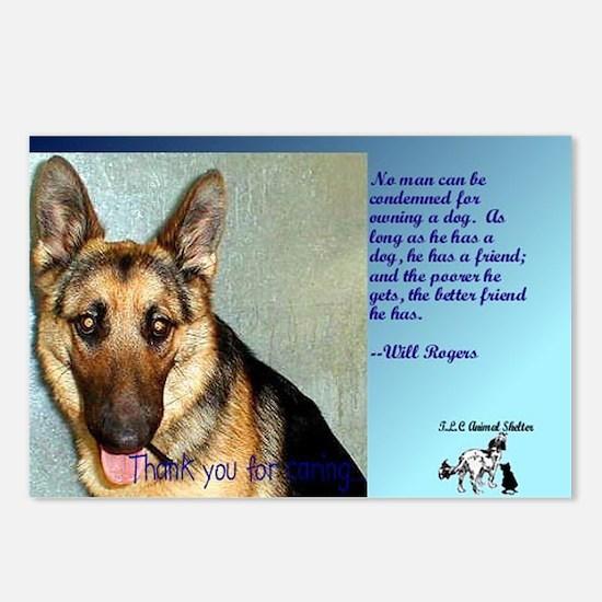 dog feelings Postcards (Package of 8)