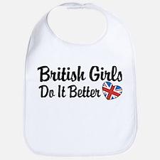 British Girls Do It Better Bib