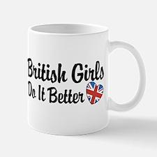 British Girls Do It Better Small Small Mug