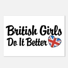 British Girls Do It Better Postcards (Package of 8