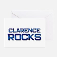 clarence rocks Greeting Card