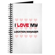 I Love My Location Manager Journal
