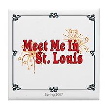 Meet Me In St. Louis Tile Coaster