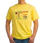 10 Ways To Become A Better Re Yellow T-Shirt
