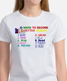 10 Ways To Become A Better Re Women's T-Shirt
