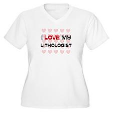 I Love My Lithologist T-Shirt