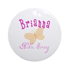 Brianna Ornament (Round)