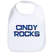cindy rocks Bib