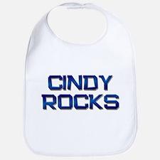 cindy rocks Bib