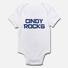 cindy rocks Infant Bodysuit