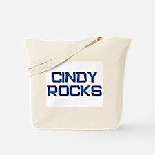 cindy rocks Tote Bag