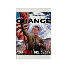 CHANGE YOU WILL BELIEVE IN Rectangle Magnet