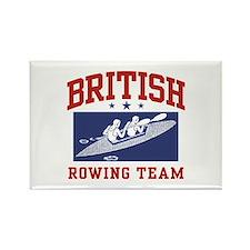 British Rowing Rectangle Magnet