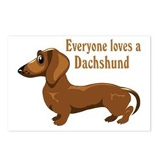 Everyone Loves A Dachshund Postcards (Package of 8