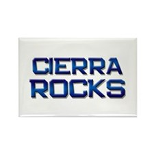 cierra rocks Rectangle Magnet