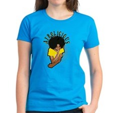 Spotted Afrolicious Tee