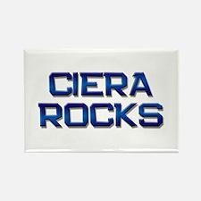 ciera rocks Rectangle Magnet