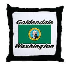 Goldendale Washington Throw Pillow