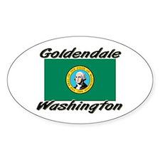 Goldendale Washington Oval Decal