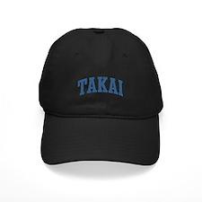 Takai Collegiate Style Name Baseball Hat
