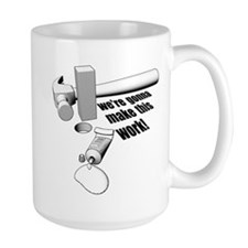 Square Peg Mug