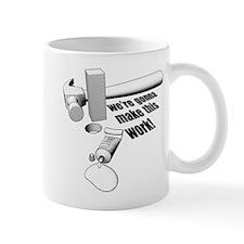 Square Peg Small Mugs