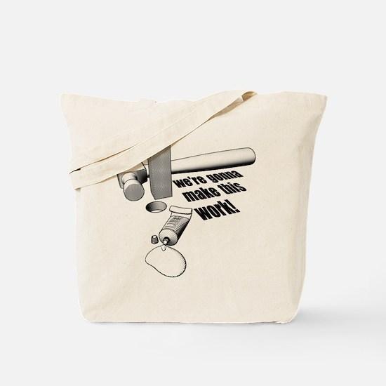 Square Peg Tote Bag