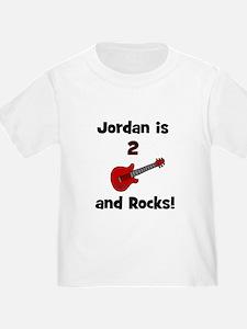 Jordan is 2 and Rocks! T