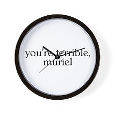 Muriel Wall Clock