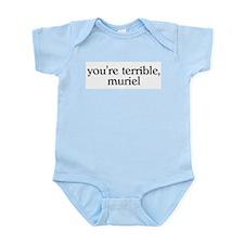 Muriel Infant Bodysuit
