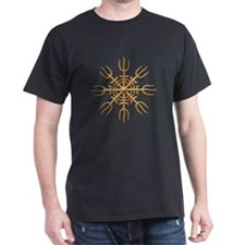 Aegishjalmur Gold- sharp T-Shirt