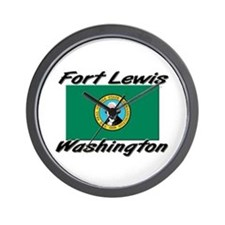 Fort Lewis Washington Wall Clock