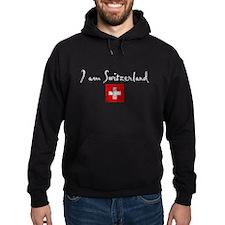 I am Switzerland Distressed Hoodie