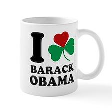 I Shamrock Love Barack Obama Mug