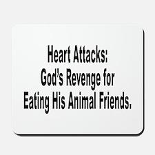 Animal Rights Anti-Hunting Humor Mousepad
