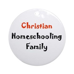 Round Ornament- christian