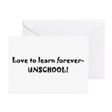 Greeting Cards (Pk of 10) - unschool