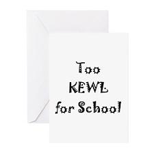 Greeting Cards (Pk of 10) - kewl
