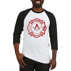 Masonic Fire & Rescue Baseball Jersey