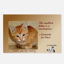 Cat feelings Postcards (Package of 8)