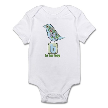 Baby Bird B is for Boy Infant Bodysuit