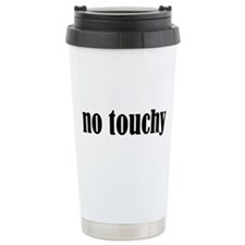 No Touchy Travel Mug