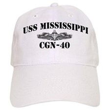 USS MISSISSIPPI Baseball Cap