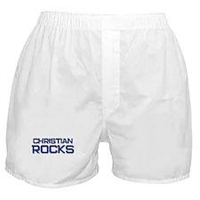christian rocks Boxer Shorts